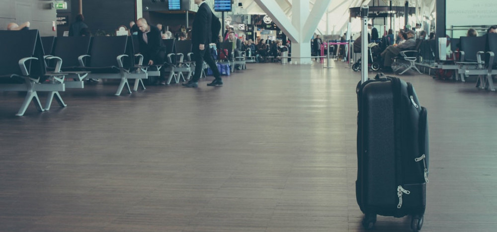 walk some laps around the terminal or baggage carousel while waiting at the airport